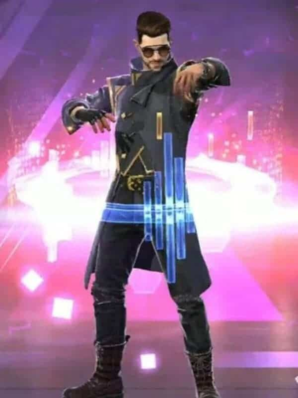 Free Fire Drop The Beat Alok Leather Coat Photo Poses For Boy Cute Actors Boy Poses