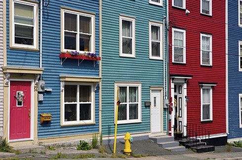 Jellybean Row, St. John's | 14 Mind-Blowing Things To See In Canada That Aren't Trees Or Mountains