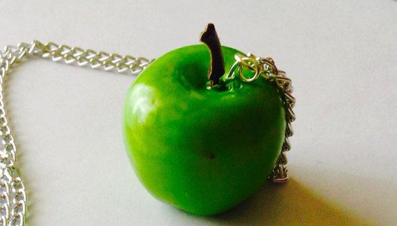 Apple Collection - Necklace ; Keyring ; Mobile pendant