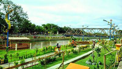 PERGIPEDIA  - Taman Cimanuk Indramayu, Taman Indah Di Bantaran Kali . Taman Cimanuk  atau Taman ...