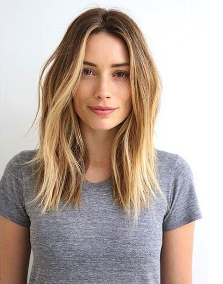Remarkable 1000 Ideas About Long Messy Bob On Pinterest Messy Bob Messy Hairstyle Inspiration Daily Dogsangcom