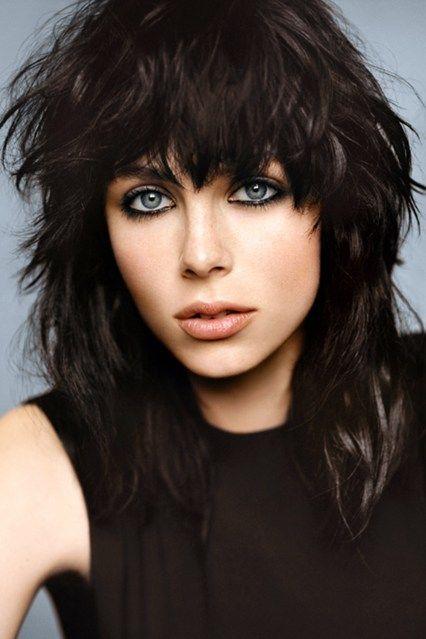 Edie Campbell For Yves Saint Laurent Black Opium (Vogue.com UK)