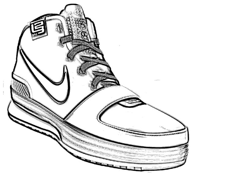 Nike shoes sketch drawings is wonderful fun for all ages.Use some creative and different methods of sketch and coloring including using colorful dough, me