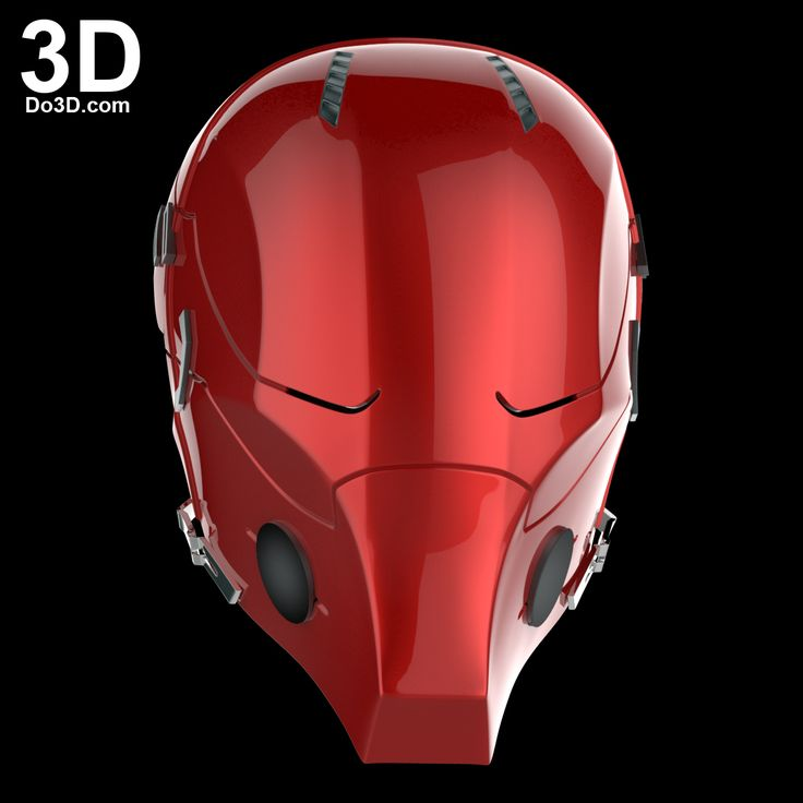 3D Printable Model: Red Hood Arkham Knight Helmet | Print File Format: STL – Do3D.com