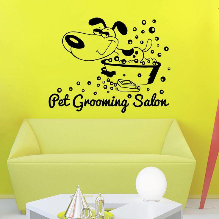 81 best Petshop Vet Grooming images on Pinterest | Wall decal, Pet ...
