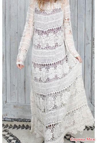 Платье - Вязание - Страна Мам