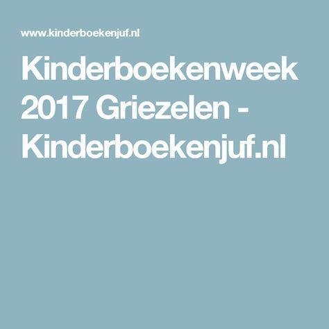 Kinderboekenweek 2017 Griezelen - Kinderboekenjuf.nl