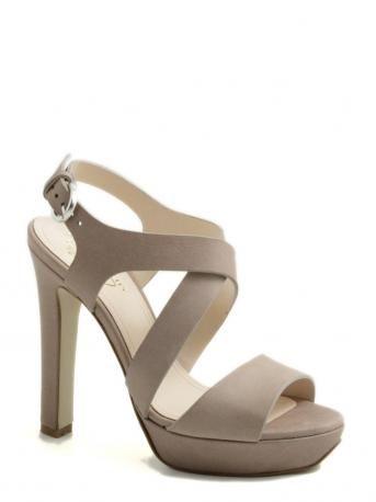 LeCrown-sandalo zeppa tortora-sandal platform taupe-LeCrown shop online