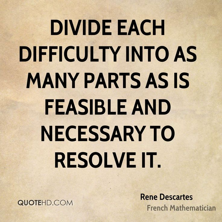 rene descartes a great thinker of Cogito ergo sum is a latin so i too can hope for great things if i manage to find is that rather than supposing an entity that is thinking, descartes should.