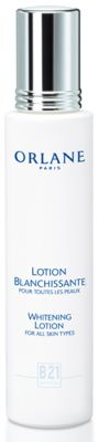 Buy Orlane Paris Whitening Lotion online! A pre-treatment to optimize the whitening line's performance, this lotion prepares the skin for later treatments, prevents melanin production, and promotes the penetration of active whitening agents. The skin is lighter, its complexion even-toned and radiant and its texture refined.