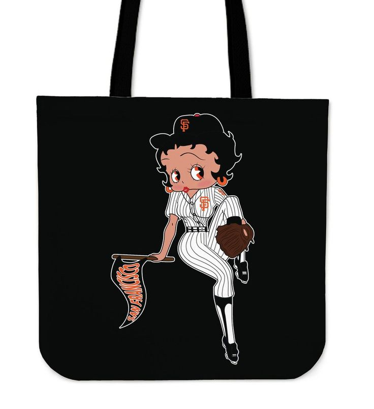 Betty Boop Baseball San Francisco Giants Tote Bags – Best Funny Store