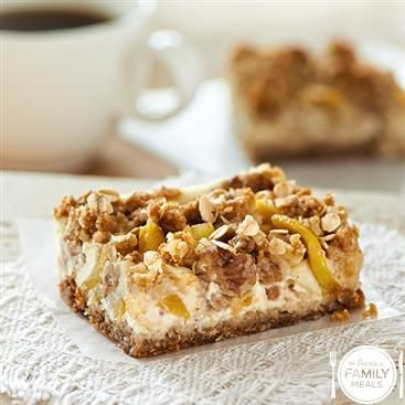 Four Layer Oatmeal Bars by The Power of Family Meals