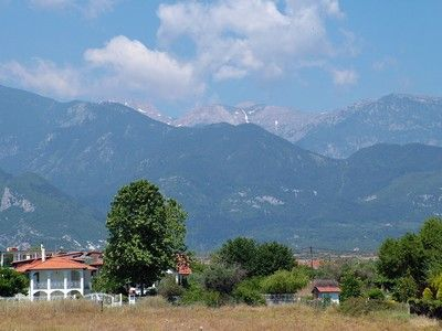 Olympus mountains