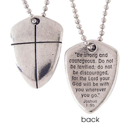 The 25 best shield of faith ideas on pinterest psalm songs shield of faith with cross pewter necklace aloadofball Choice Image