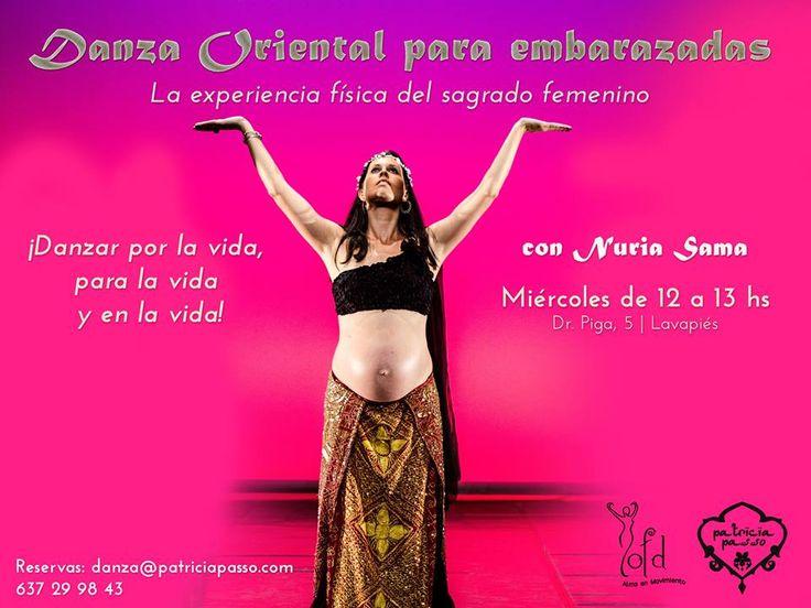 ¡Abrimos nuevo grupo de #DanzaOriental para #embarazadas!