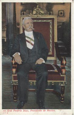 Don Porfirio En La Silla Presidencial Sillas Republica