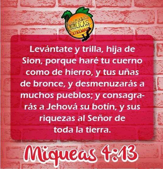 Miqueas 4.13