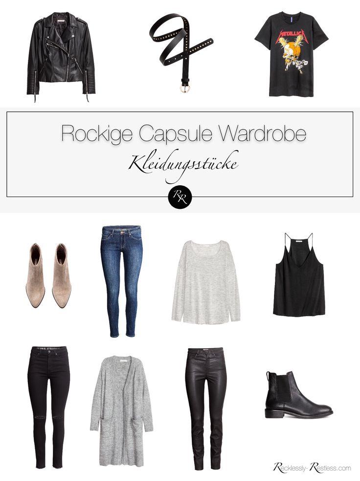 Kleidungsstil Serie: Rock Chic
