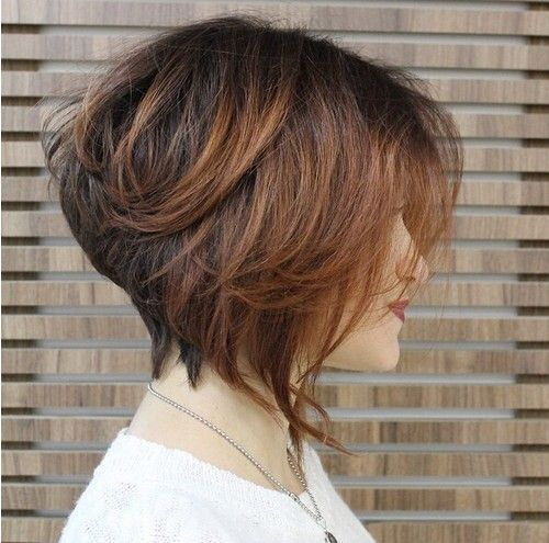 Stacked Bob HairCut Side View - Easy Everyday Hairstyles for Short Hair 2016