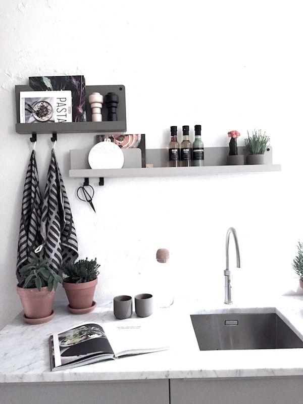 Ideer på kryddhylla/hylla i köket