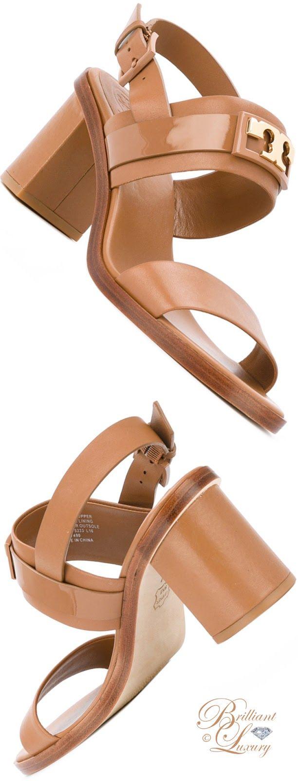 Brilliant Luxury by Emmy DE ♦ Tory Burch Chunky Heel Sandals