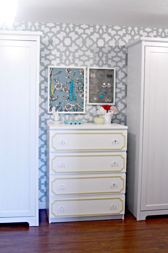 Using A Product Called Overlays To Dress Up Furniture