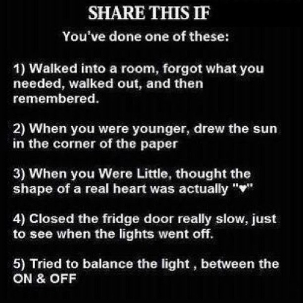 Hah I've done all of these! - @emmrudd12- #webstagram If u have done any of these repin this bet u ill get alot