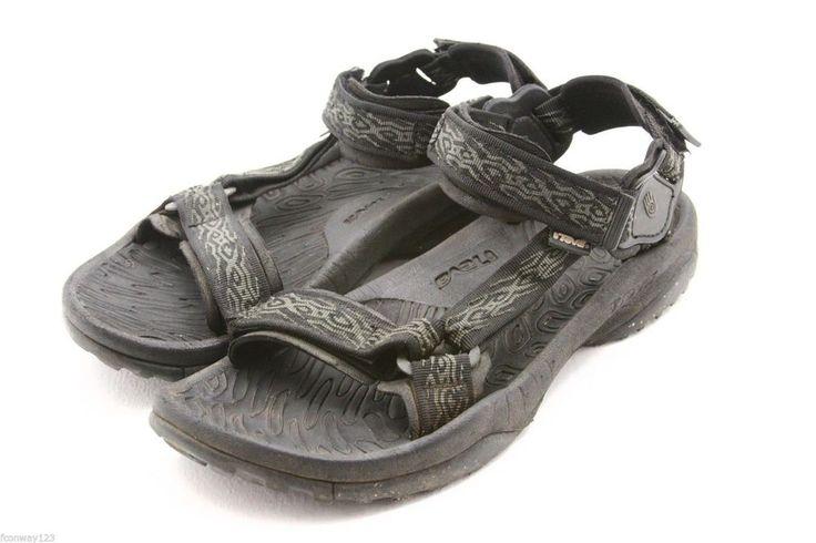 TEVA mens sandals Size 12 TERRA  FI waterproof river water sport SPIDER RUBBER #Teva #SportSandals @ebay #style #Sandals #fashion #beach
