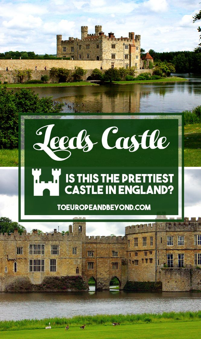 If you picture an English castle, what does it look like? A noble property, surrounded by a moat and only accessible by a drawbridge, with imposing stone towers and lavish gardens, perhaps? Because that's exactly what the Leeds Castle looks like