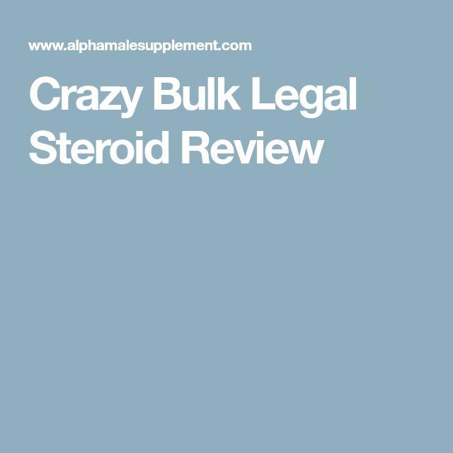 Crazy Bulk Legal Steroid Review