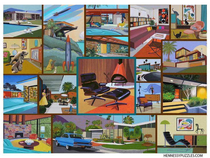 607 Best Retro Art Images On Pinterest Retro Art