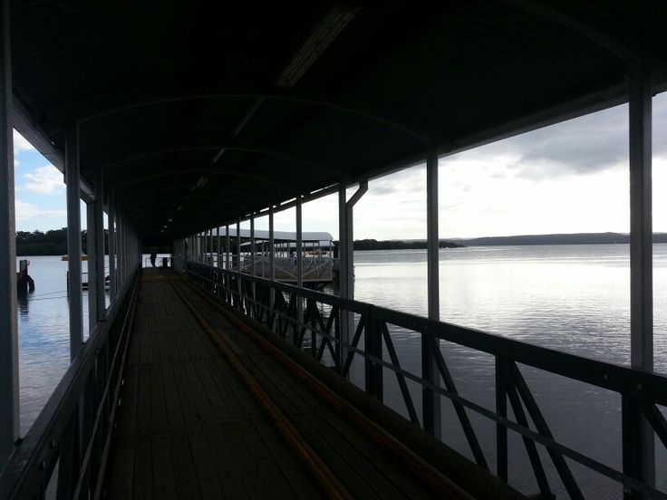 The jetty at Russell Island