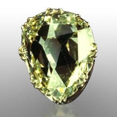 the sancy stone 55 Carats, it was cut in a pear shape & was first owned by Charles the Bold, Duke of Burgundy, who lost it in battle in 1477. The stone is in fact titled after a later owner, Seigneur de Sancy. A French Ambassador to Turkey in the late 16th century.  He lent it to the French king, Henry III. Who wore it in the cap with which he concealed his baldness.  Henry IV of France also took the stone from Sancy. But it was sold in 1664 to James I of England.  In 1688, James II, last of…