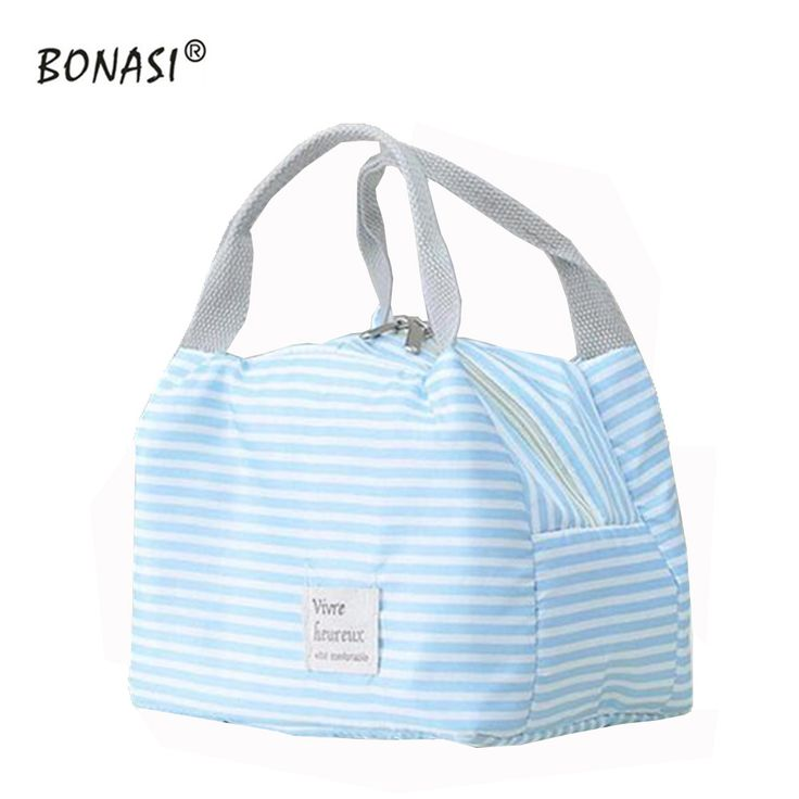 2016 New Fashion Portable Insulated Lunch Bag Thermal Food Picnic Lunch Bags for Women kids Men Cooler Lunch Tote Bag