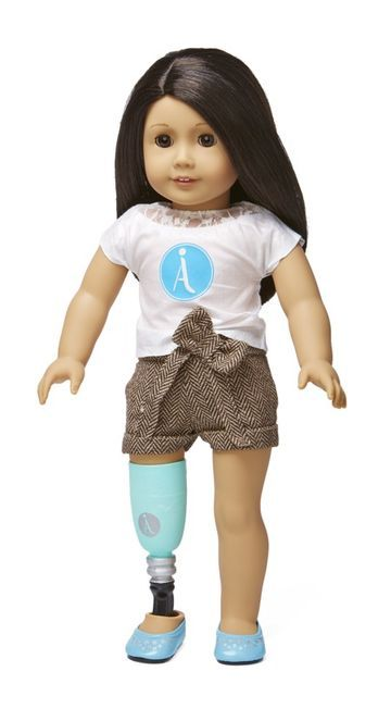 A Step Ahead Prosthetics and Orthotics can modify American Girl dolls with hand-painted prosthetics free of charge for kids with limb loss. Each doll also has residual limbs, so when a child removes the prosthetic she will see an arm or leg that looks like hers.