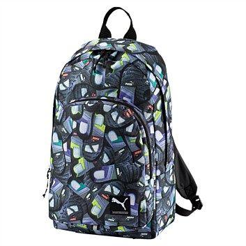 Rebel Sport - PUMA Academy Backpack Dark Shadow 26 Litres