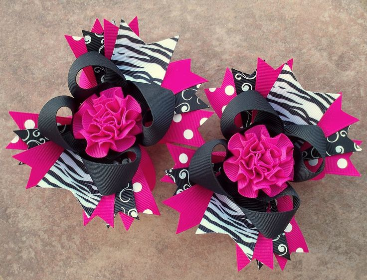 Free Homemade Hair Bows Instructions | The BowVine Boutique Hair Bows & Accessories