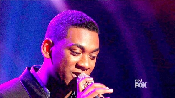 Joshua Ledet  - American Idol Season 11 Episode 37--He was my fav this year!  Ah well...