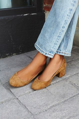 The Cyndi Block Heels are perfect for work or just everyday shoes with a little more height!
