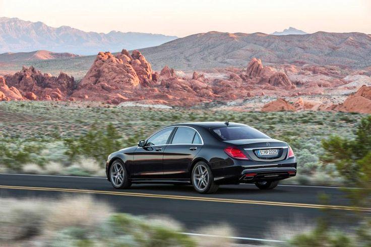 The new Mercedes Benz S Class