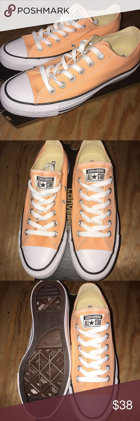 NEW Tangerine/Orange Converse Ox Never worn Converse Shoes Sneakers