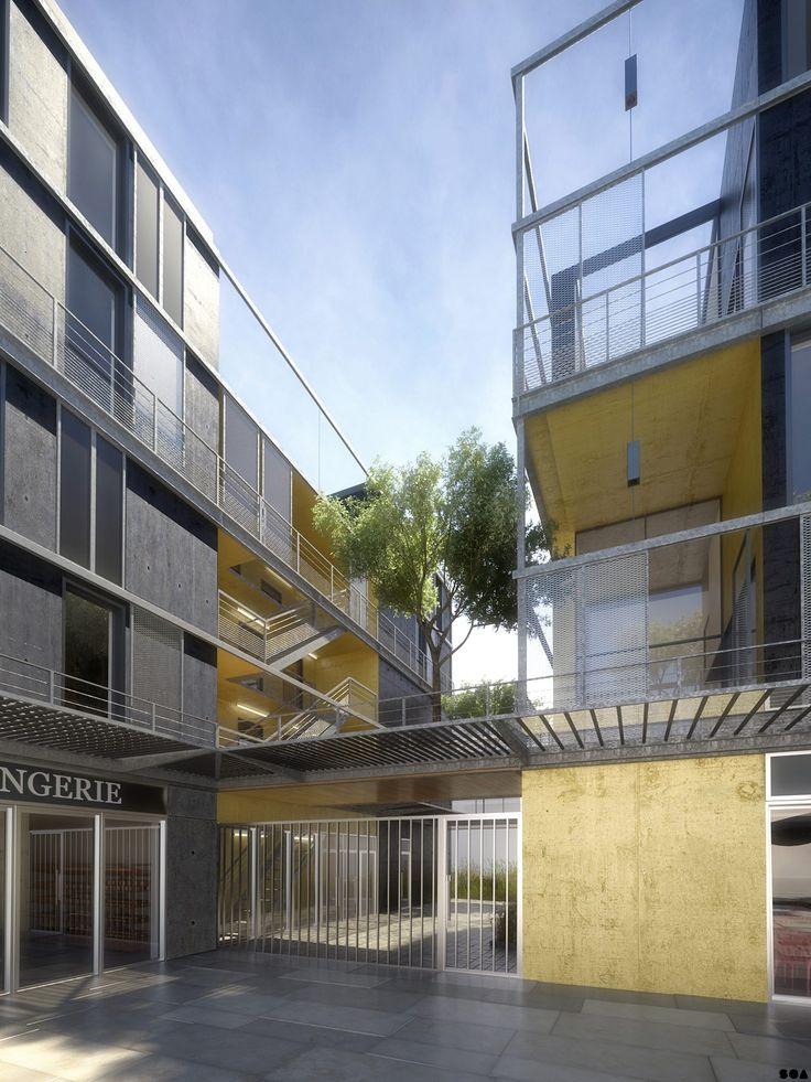 SOA Architectes Paris > Projets > CAMILLE CLAUDEL PALAISEAU
