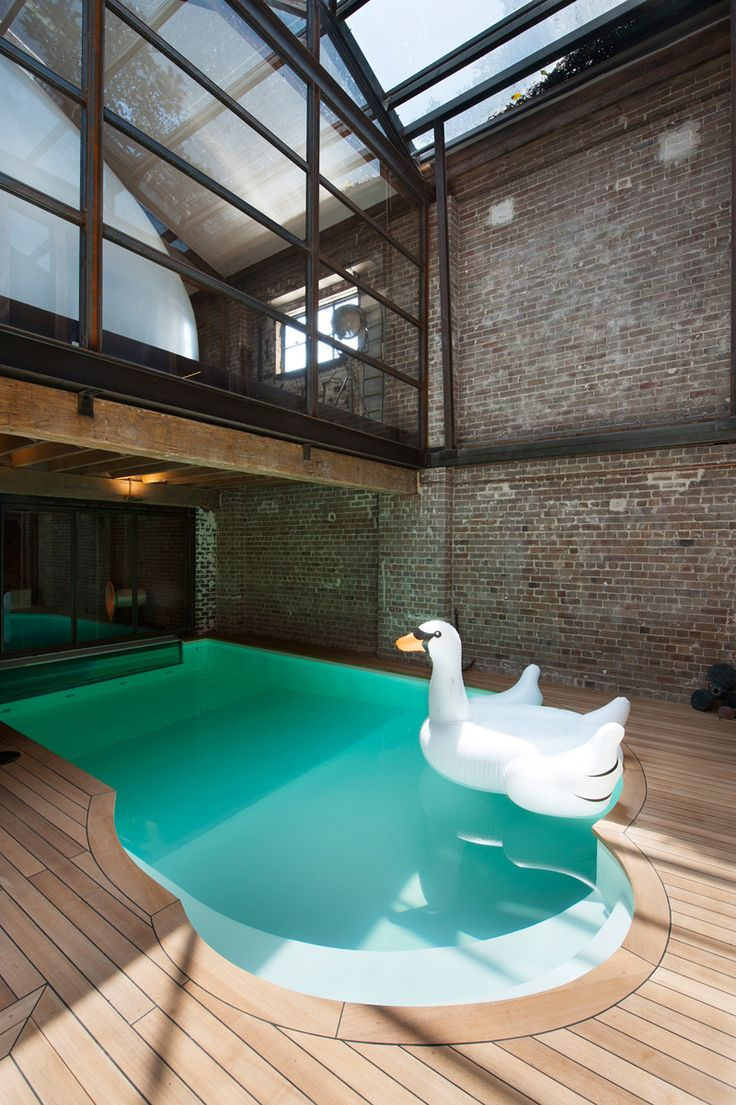 Best 25 warehouses ideas on pinterest industrial loft for Swimming pool conversion ideas