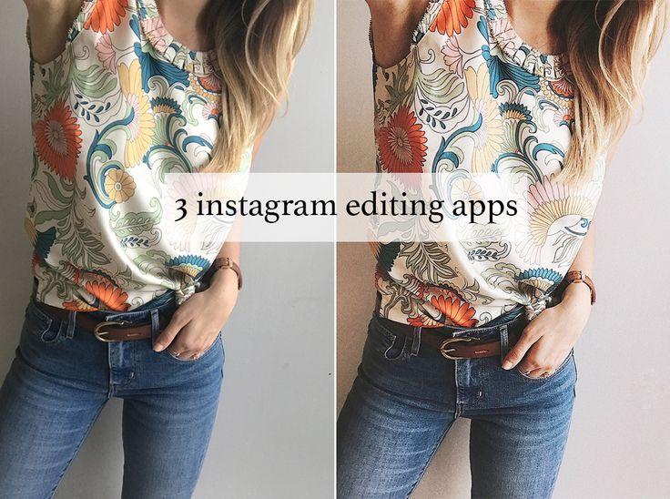 LivvyLand Favorite Instagram Editing Apps // Weekly Chat