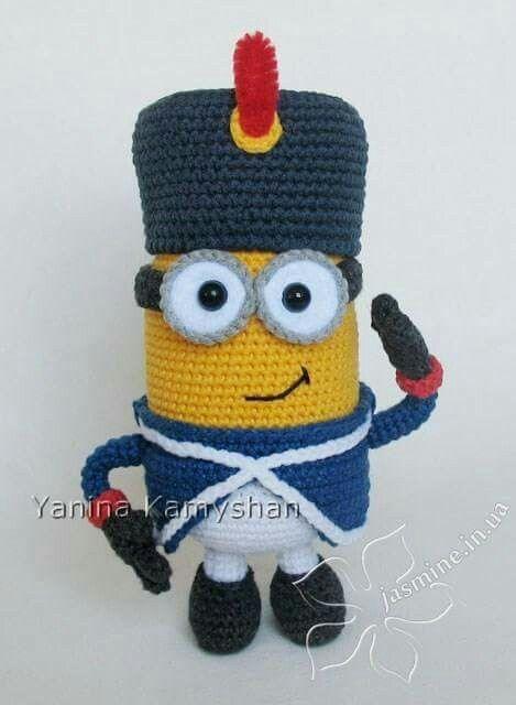 Free Crochet Patterns For Minion Toys : Napoleonic Minion Project Palace Pinterest Minions