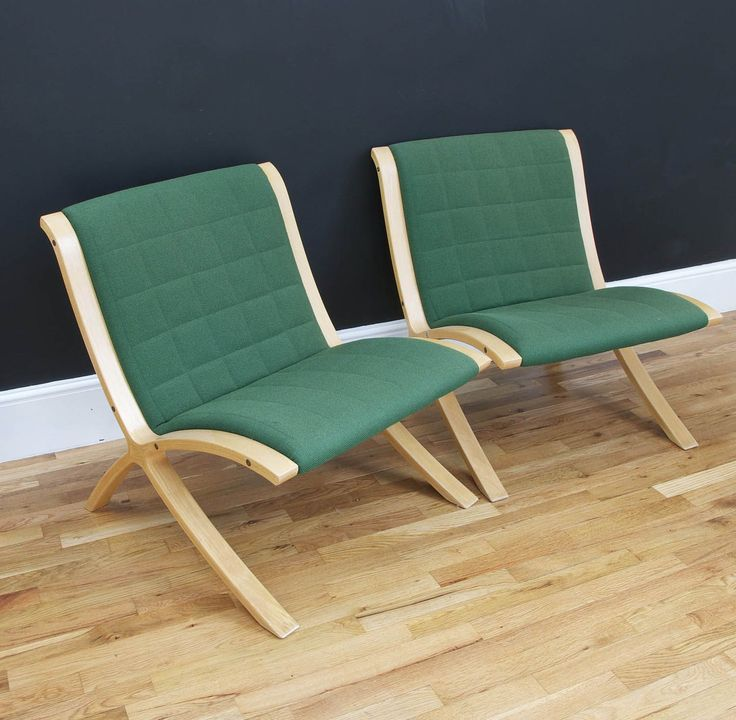 Pair of Hvidt & Nielsen AX Chairs - Bring It On Home