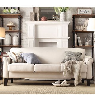 TRIBECCA HOME Uptown Modern Sofa - 11947586 - Overstock.com Shopping - Great Deals on Tribecca Home Sofas & Loveseats