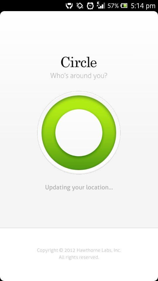 Circle app loader