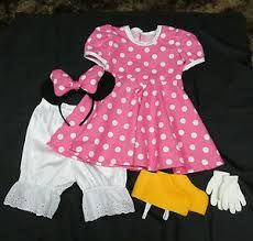 homemade minnie mouse costume toddler - Google Search