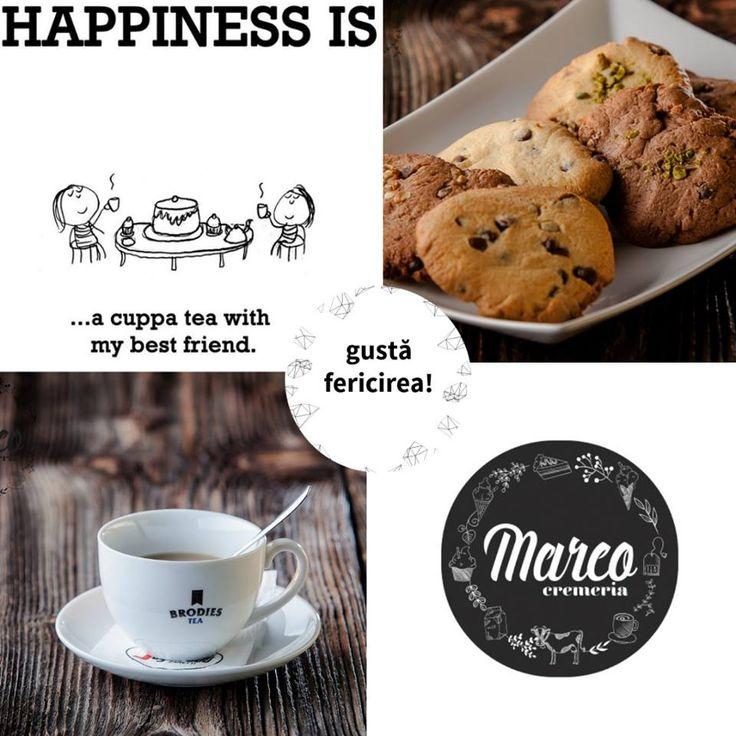 Coffee? Tea? Me? Sau cu prietena ta cea mai bună, alături de care poți bea și 10 cafele într-o zi, că tot ați avea ce povesti :) #prietenie #cafea #cremeriamarco